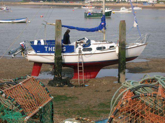 First New Boat Launched After Aldeburgh Boatyard Fire