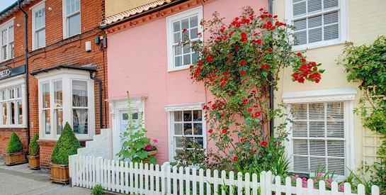 historic holiday home in Aldeburgh