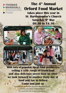 The 4th Annual Orford Food Market